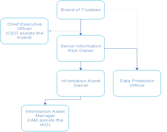 Information Governance reporting structure