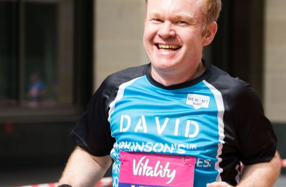 Parkinson's UK supporters taking part in the London 10,000 2017