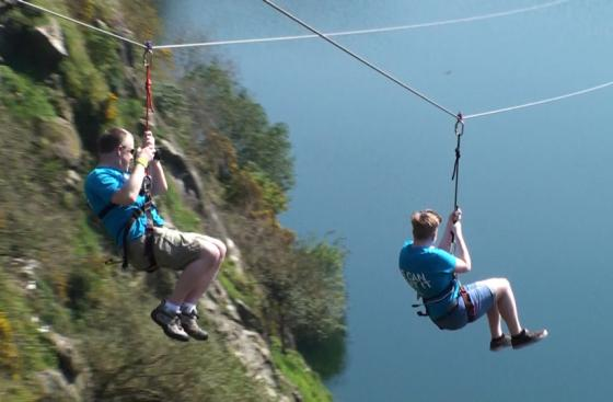 how to make a zip wire