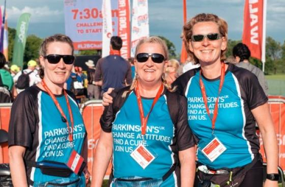 Isle of Wight Challenge participants