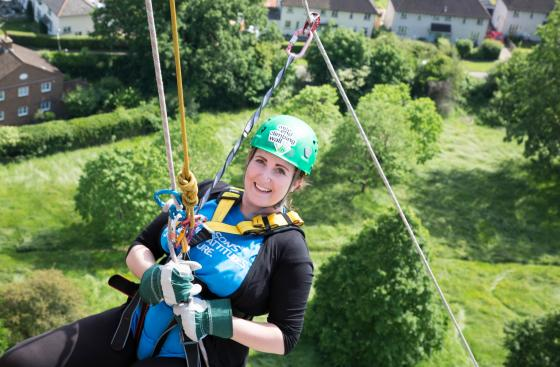 Guildford Cathedral Abseil