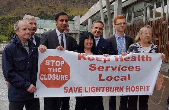 Lightburn Hospital campaigners