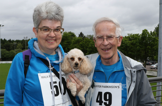 Walk for Parkinson's participants in Northern Ireland