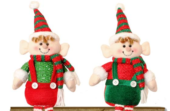 Two Christmas Elves, available in the Parkinson's UK shop
