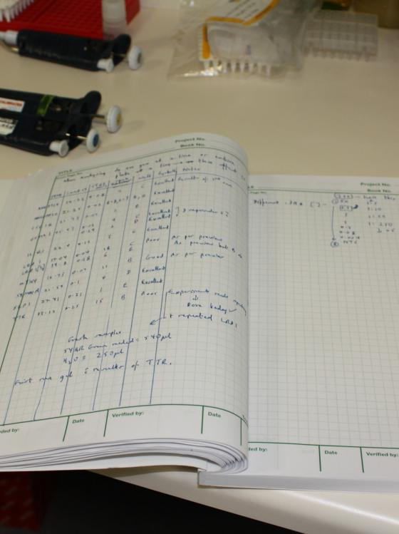 Research Lab Book