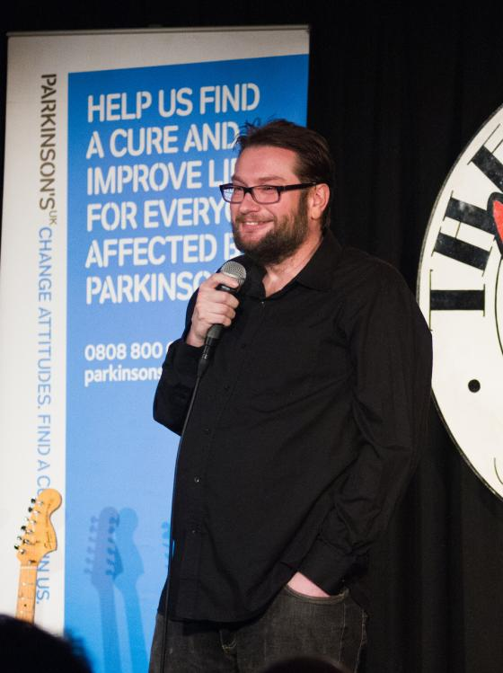 Gary Delaney at Shake with Laughter London