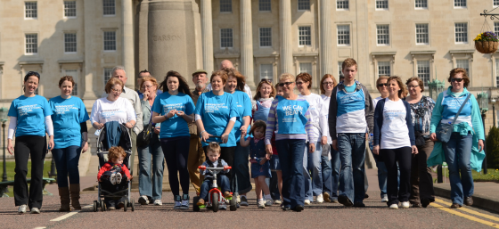 Parkinson's UK supporters in Northern Ireland