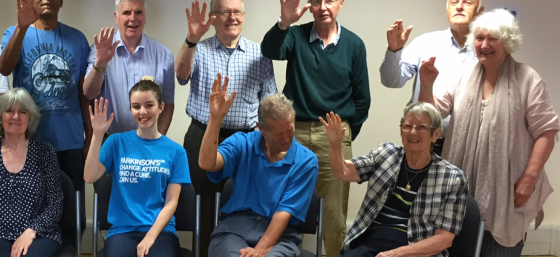 Parkinson's UK volunteers in Wales