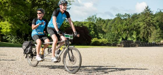 Cyclists join Time to Tour to raise money for Parkinson's UK