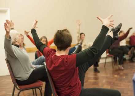 Musical Moving, Dance for people with Parkinson's London class
