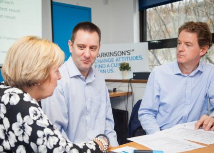 Tracking Parkinson's - involvement