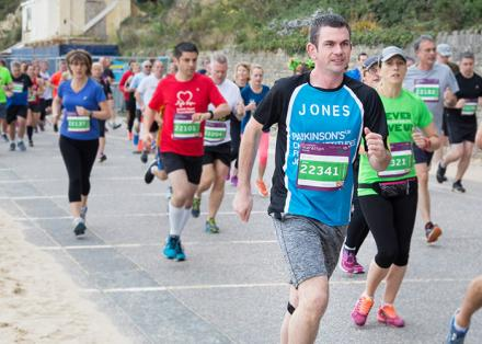 Running the Bournemouth Marathon