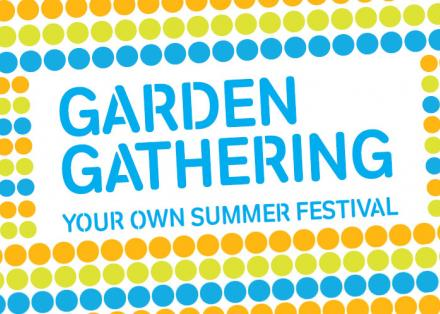 Garden Gathering invitation