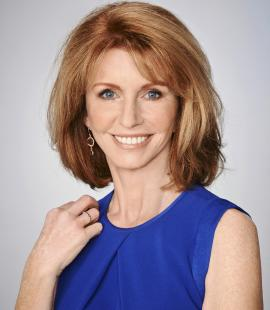 Portrait of Jane Asher, Parkinson's UK's president