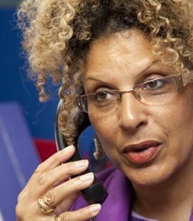 Angela LaTouche on the helpline